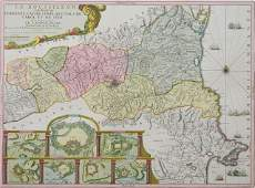Nicolas de Fer map of France