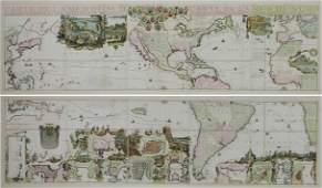 Nicolas de Fer world map