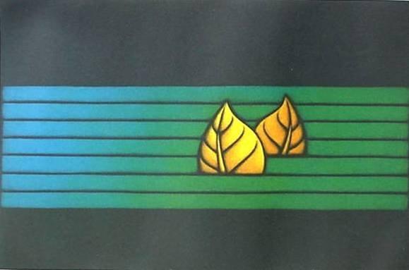 Kazuhisa Honda mezzotint in colors