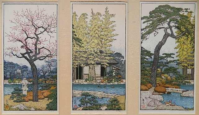 Toshi Yoshida woodblocks in color (3)