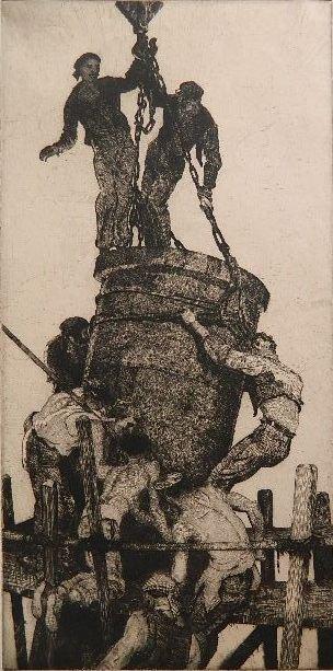 James Allen etching