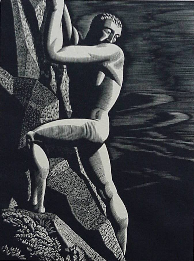 Rockwell Kent | The End. (1927) | Artsy