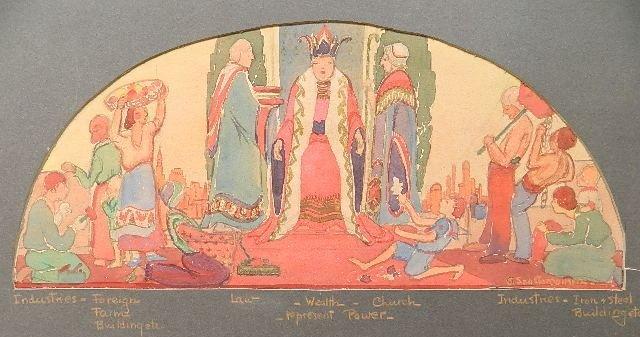 Gerta Saastomoinen watercolor