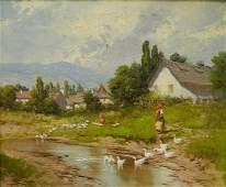 Laszlo Neogrady oil