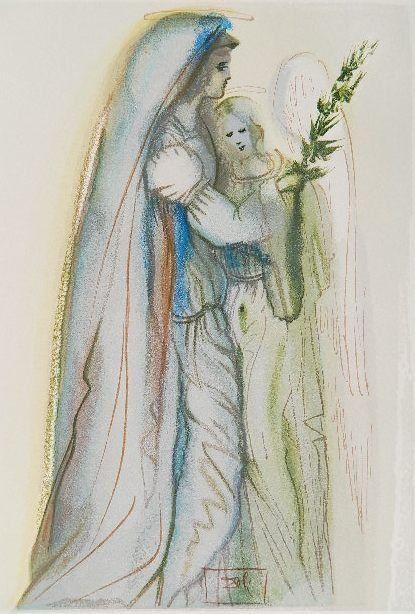 Salvador Dali wood engraving