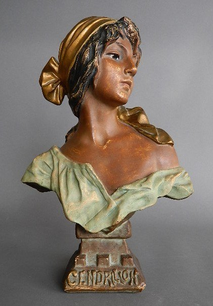 Cendrillon Bust of A Gypsy Woman