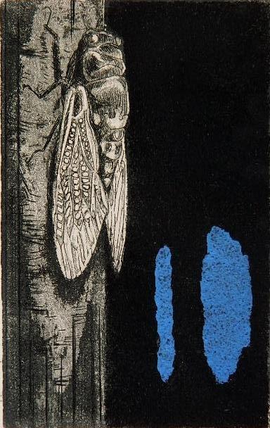 Francois Nakayama etching