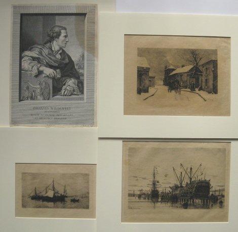 Beauverie, Ballin, Appian, Preisler- 4 prints