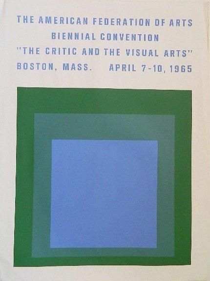 after Josef Albers silkscreen posters