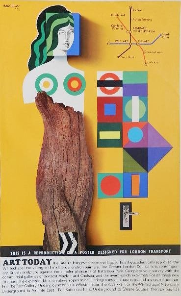 after Hans Unger off-set lithographic poster