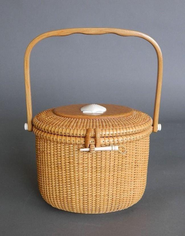 G. L. Brown Nantucket Lightship basket
