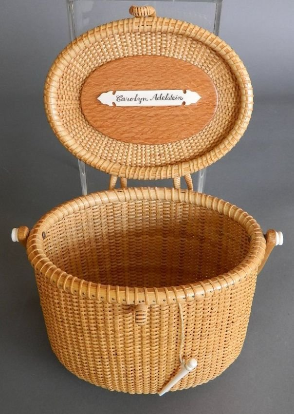 G. L. Brown Nantucket Lightship basket - 4