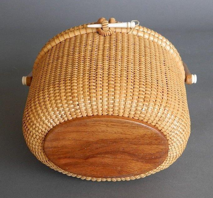 G. L. Brown Nantucket Lightship basket - 7