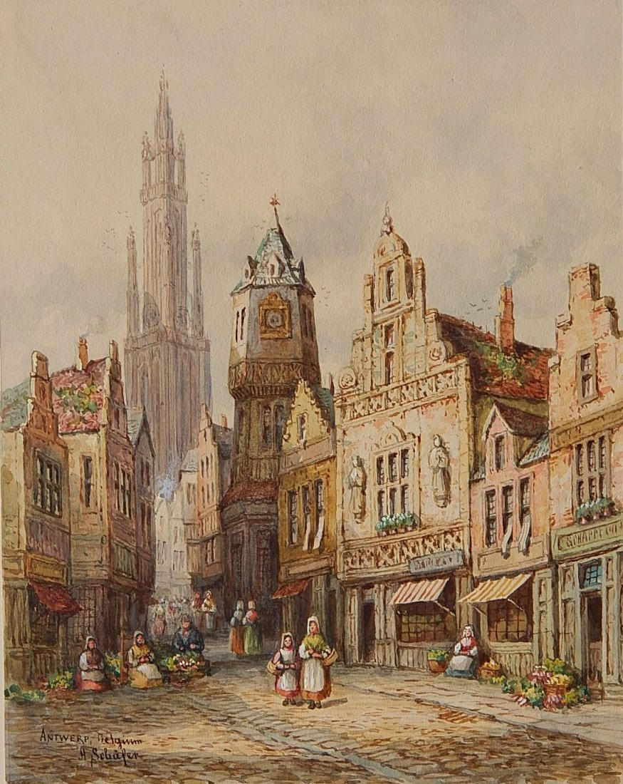 Henri Schafer watercolor