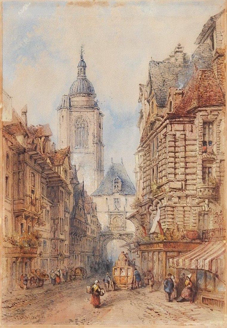 Thomas R. Dibdin watercolor
