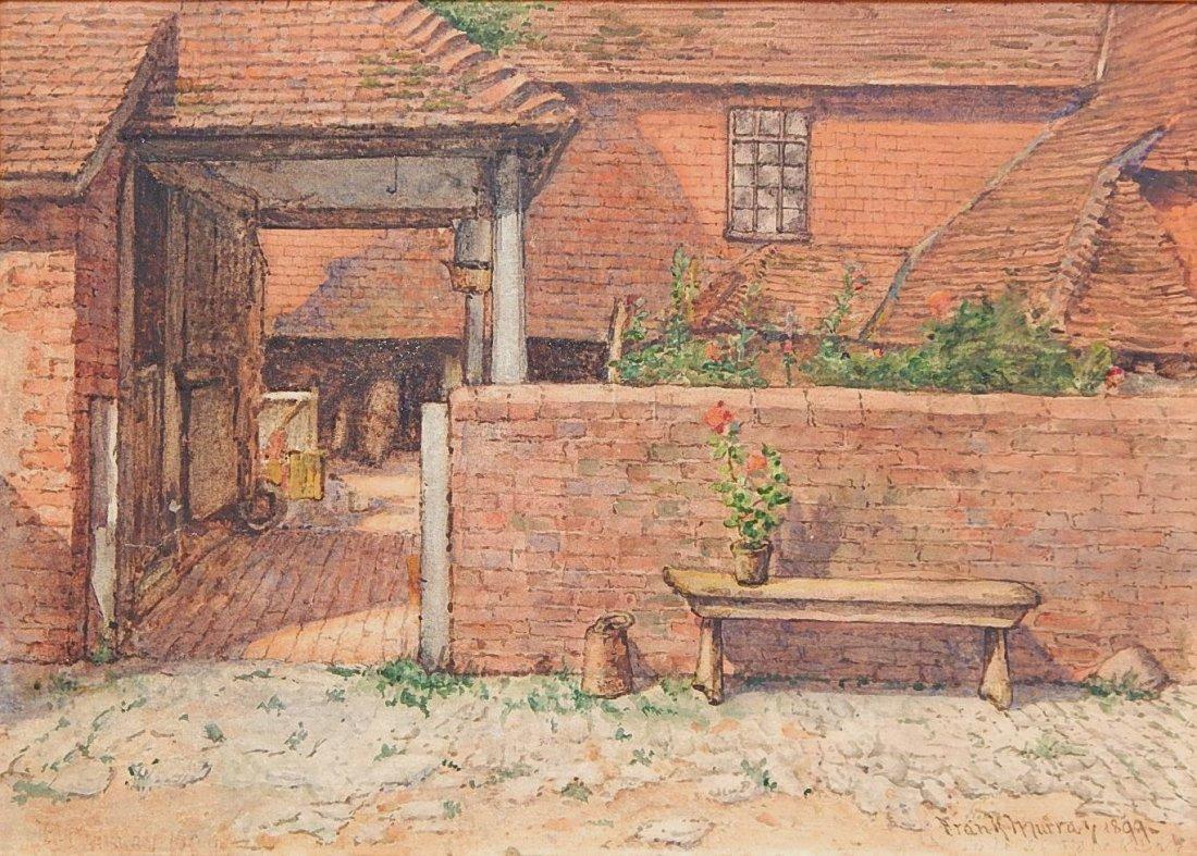 Frank Murray watercolor