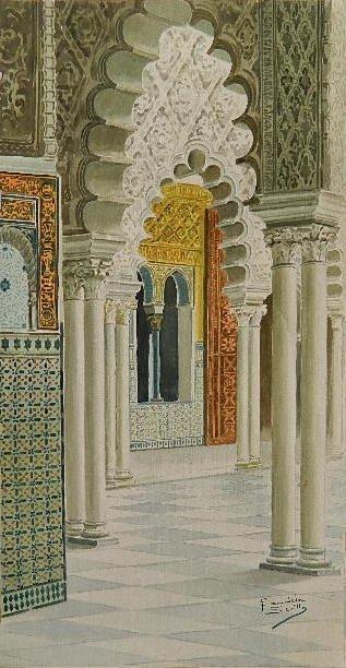 Francisco Candela watercolor