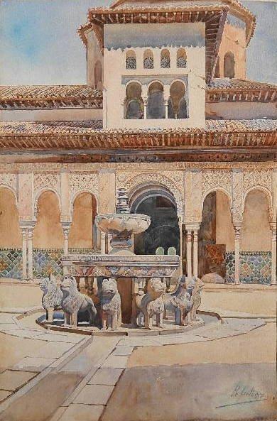 R. Liatorre watercolor