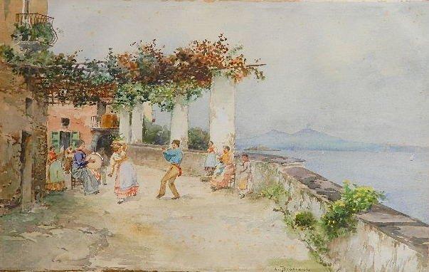 Carlo Brancaccio watercolor