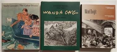 3 Books on Woman Printmakers