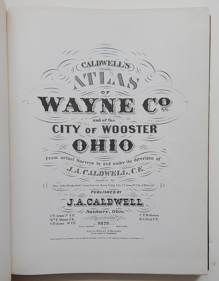 Caldwell's Atlas of Wayne County and Wooster, Ohio - 2