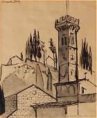 Rober MacDonald Graham pen and ink