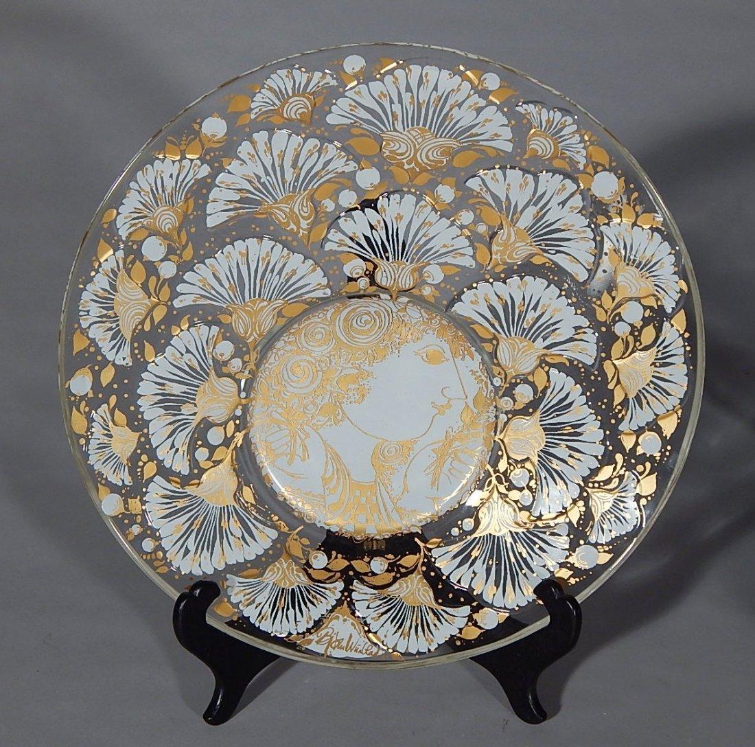 Bjorn Wiinblad glass bowl