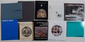 19 Books etc. on Ohio art and artists