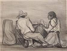Pablo O'Higgins lithograph