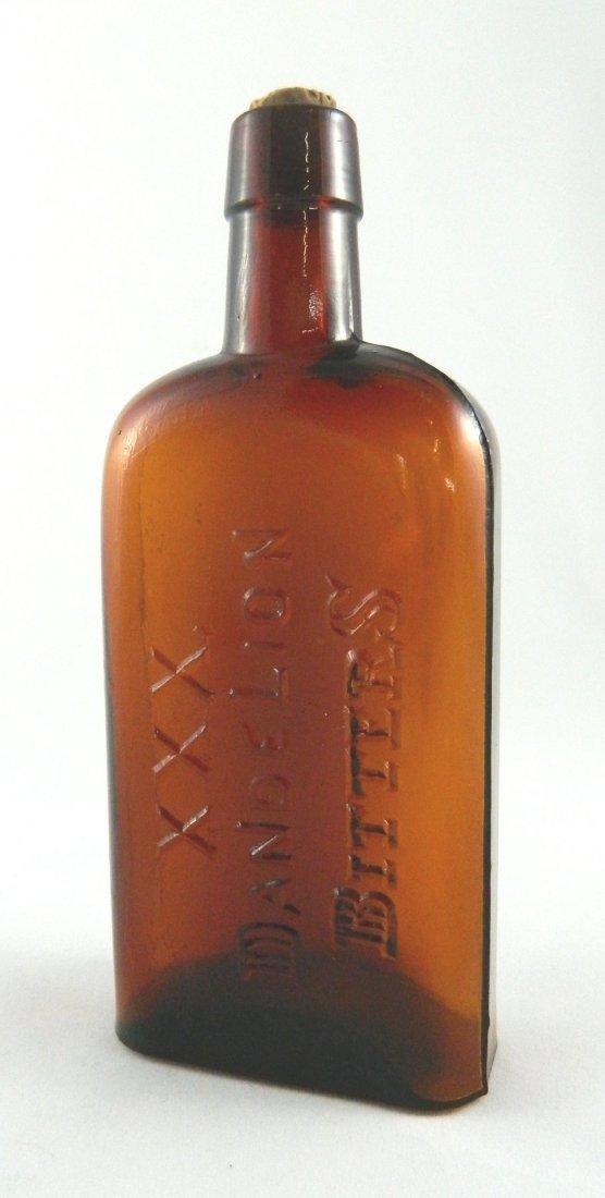 Bitters bottle - XXX Dandelion Bitters