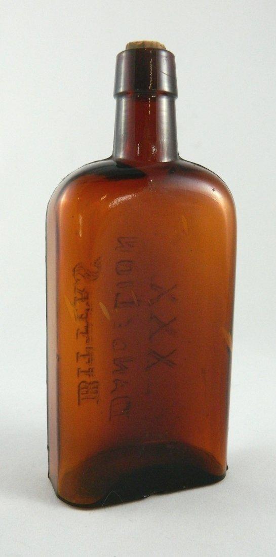 Bitters bottle - XXX Dandelion Bitters - 3
