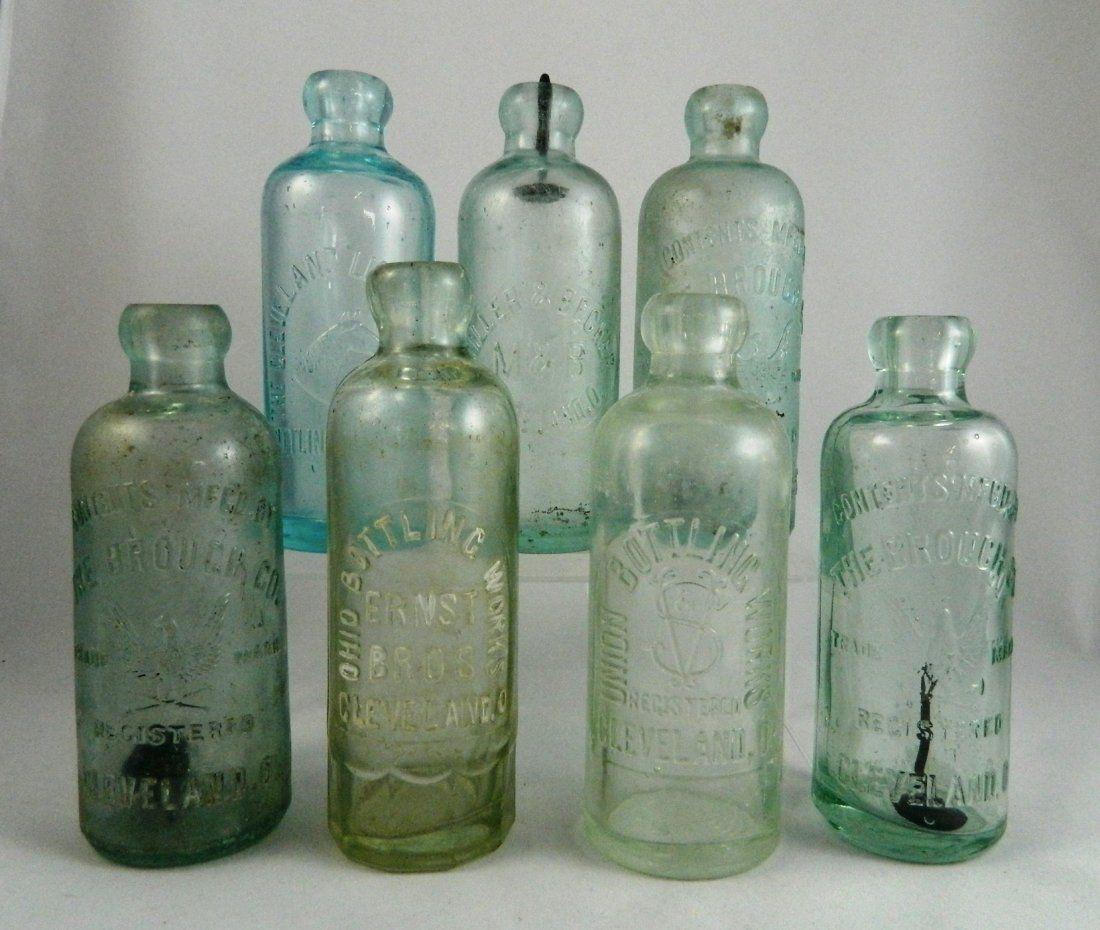 Soda bottles - 7 Hutchinson, Cleveland, OH
