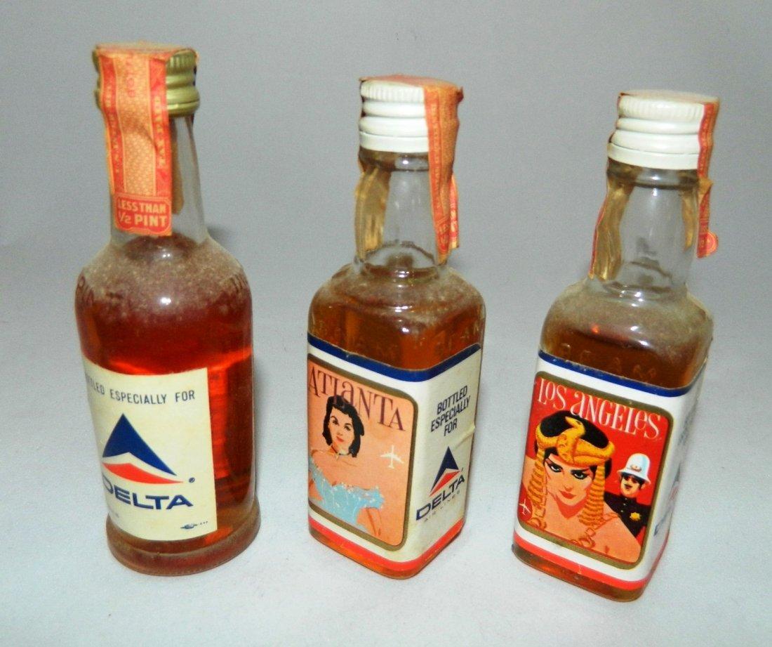 200+ miniature liquor bottles, airplane nips - 10