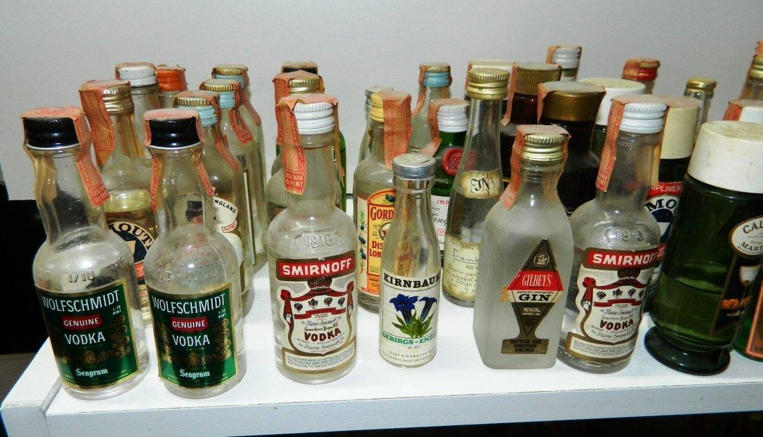 200+ miniature liquor bottles, airplane nips - 2