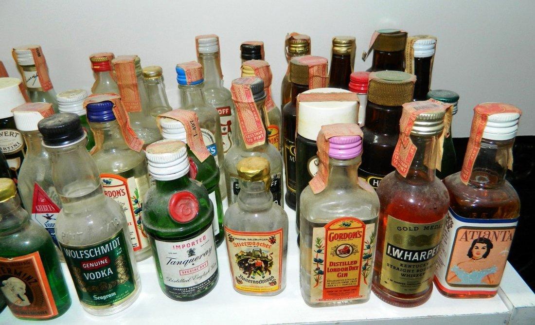 200+ miniature liquor bottles, airplane nips - 3