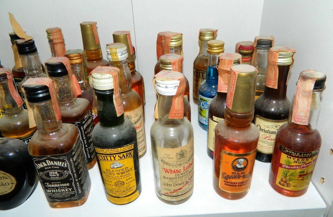 200+ miniature liquor bottles, airplane nips - 4