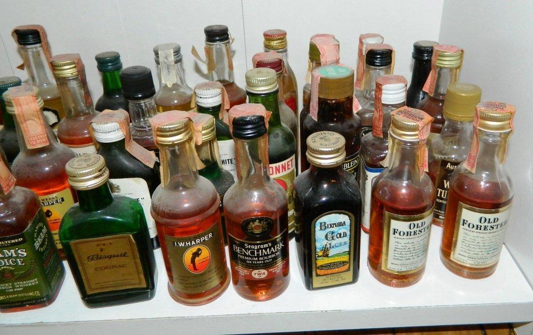 200+ miniature liquor bottles, airplane nips - 8