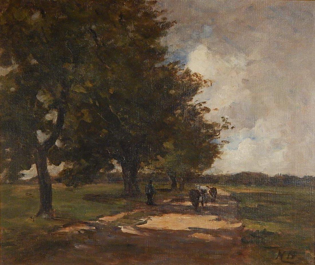 Nathaniel Hone oil