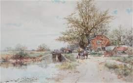 Frank F. English watercolor