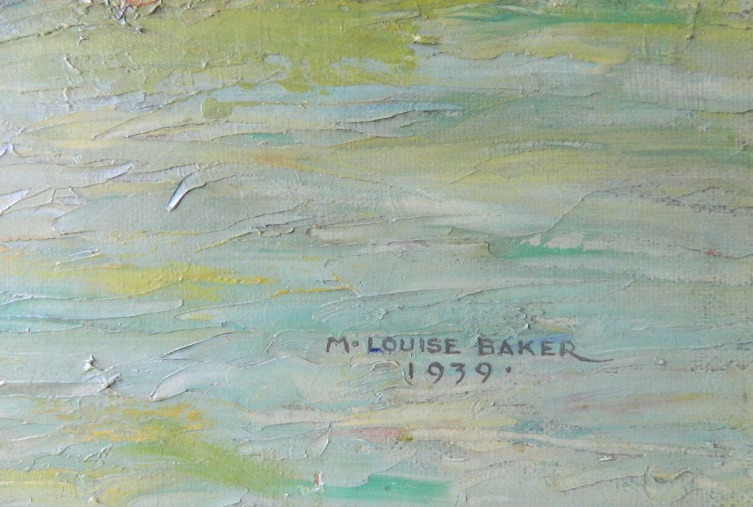 M Louise Baker oil - 3