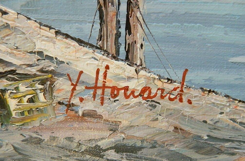 Y. Howard oil - 3