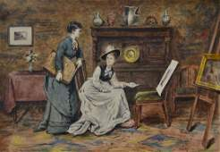 George Goodwin Kilburne watercolor