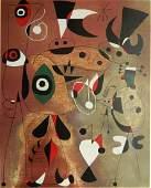 Joan Miro lithograph