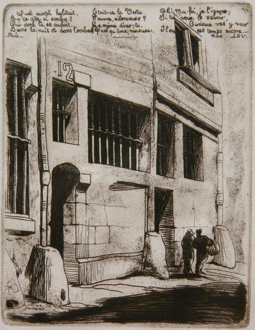 Charles Meryon etching
