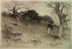 George Henry Smillie etching