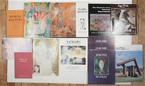13 Books on American and International Artists