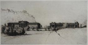 David Young Cameron Drypoint