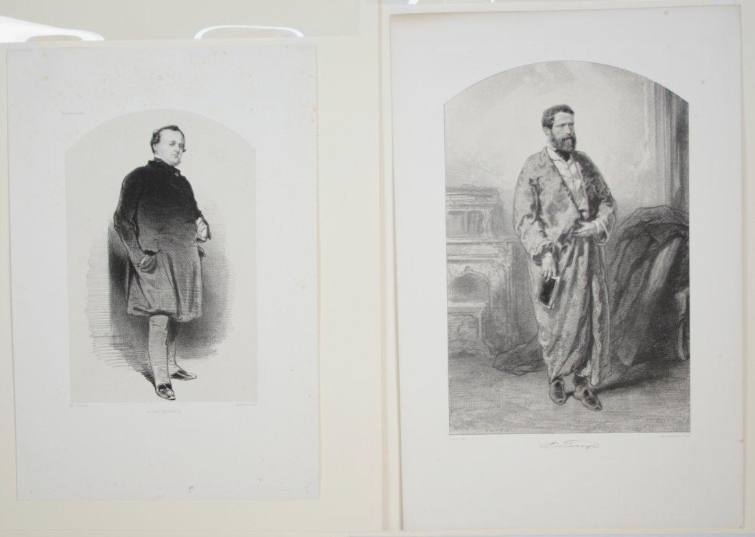 Paul Gavarni lithographs