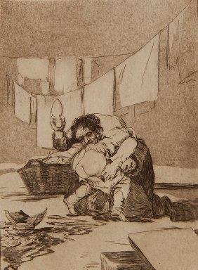 Francisco Goya Etching And Aquatint