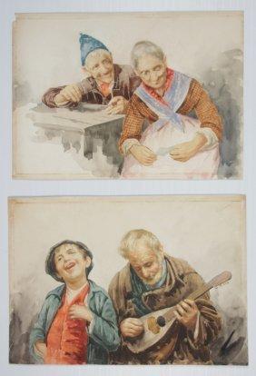 Gianni 2 Watercolors